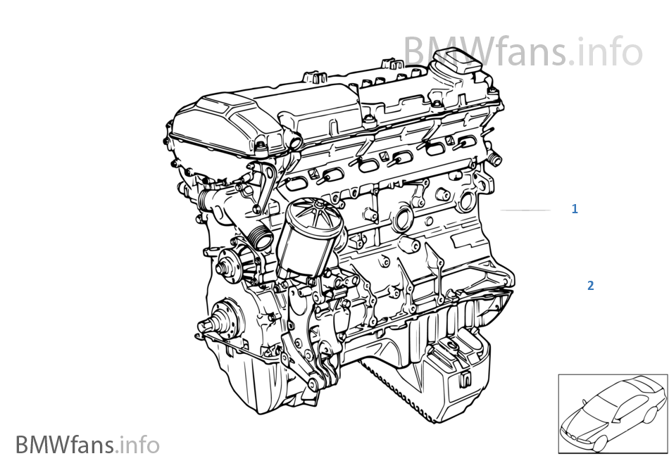 Short Engine | BMW 3' E36 M3 S50 USABMWfans.info