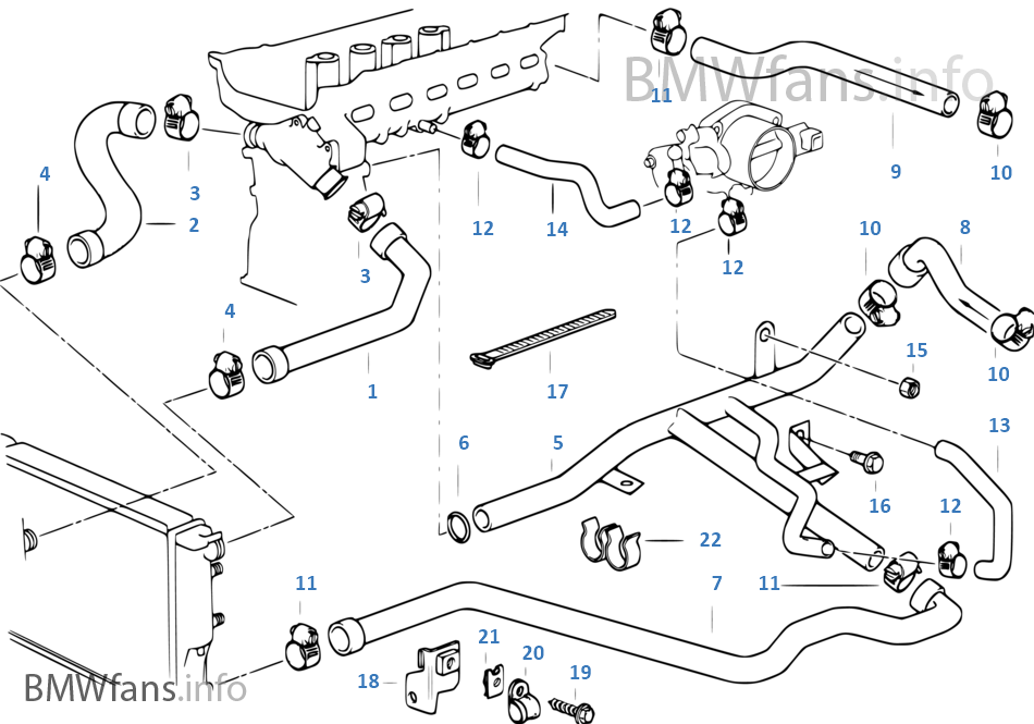 Bmw Coolant System Diagram