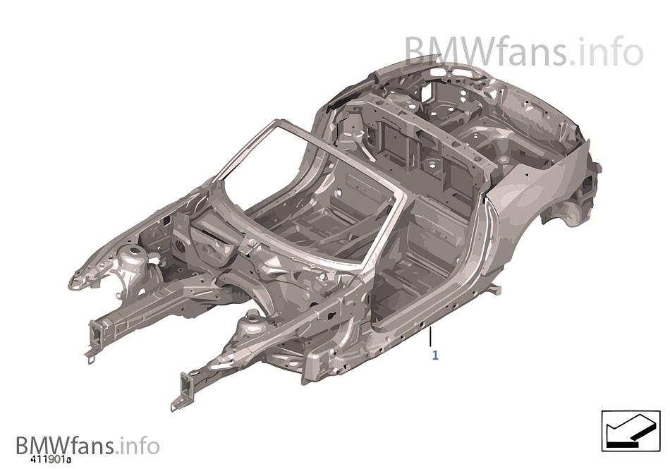 Karosserie Gerippe Bmw Z4 E89 Z4 30i N52n Europa