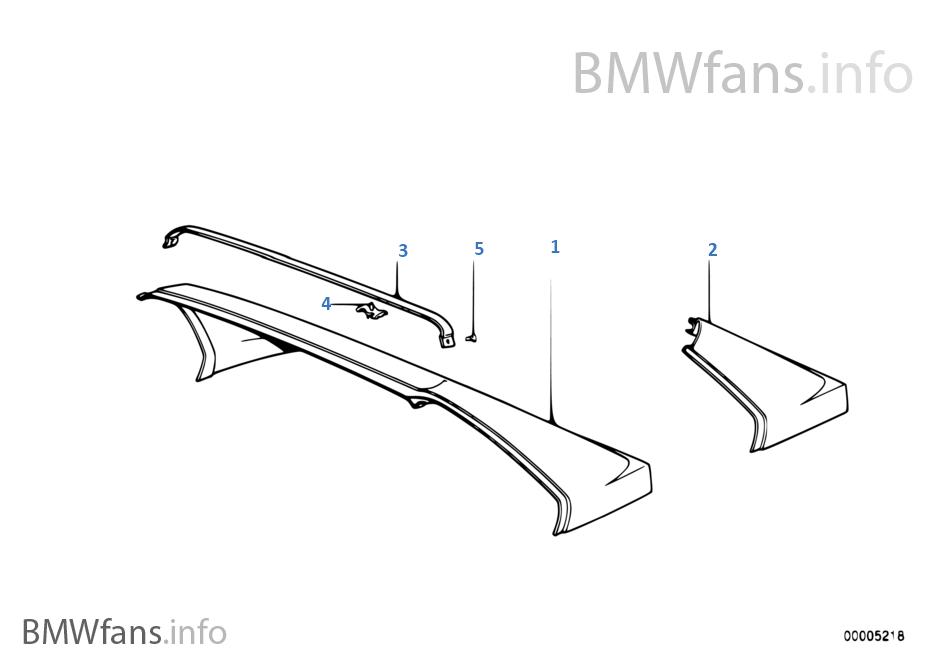 Rear Window Frame Bmw 3 E30 M3 S14 Europe