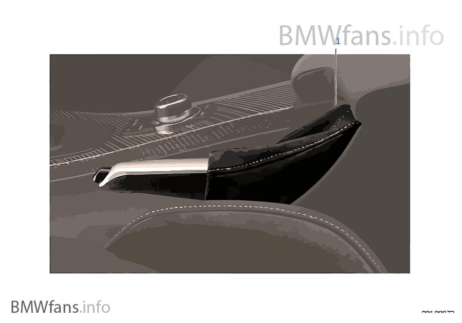 BMW Performance ハンド ブレーキ ノブ