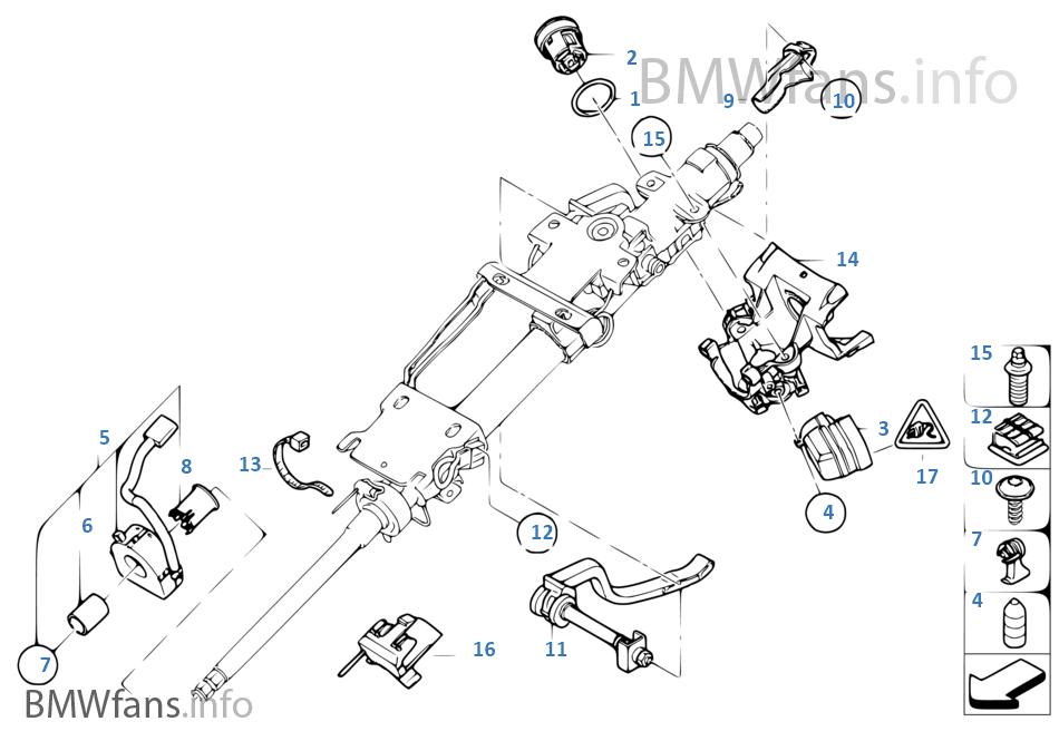 Steering Column Attach Partslock Cyl