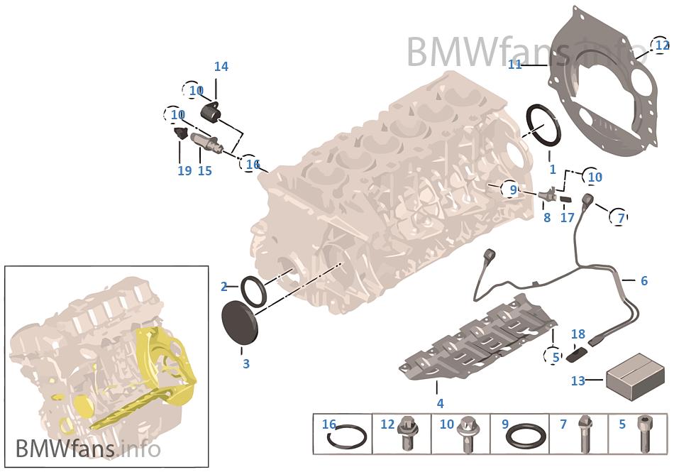 シリンダー クラッチ ハウジング/取付部品