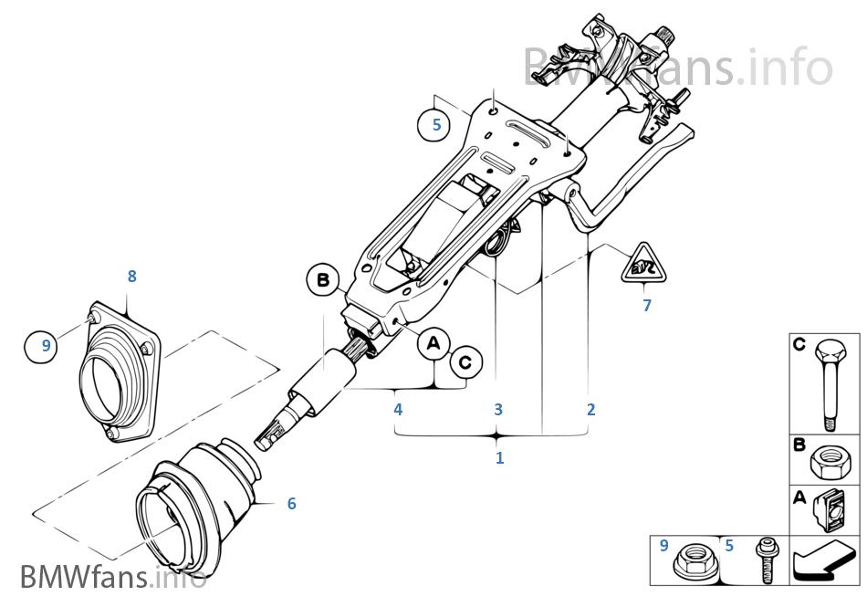 Рулевая колонка с механическим приводом