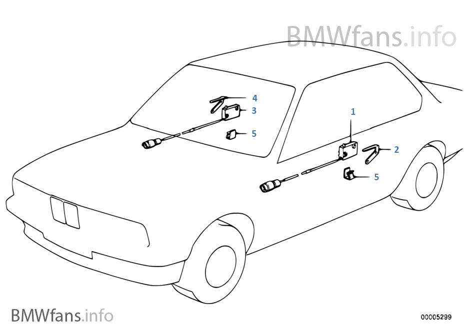 bmw e23 745i parts