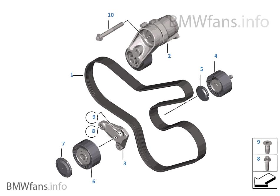 皮带传动发电机 / 空调 / 转向辅助装置