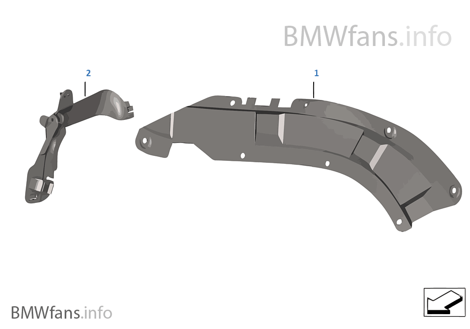wiring harness covers cable ducts bmw 7' e65 730d m57n europe  wiring harness covers #8