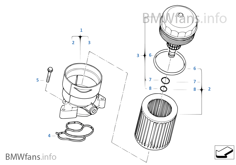 Lubrication System Oil Filter