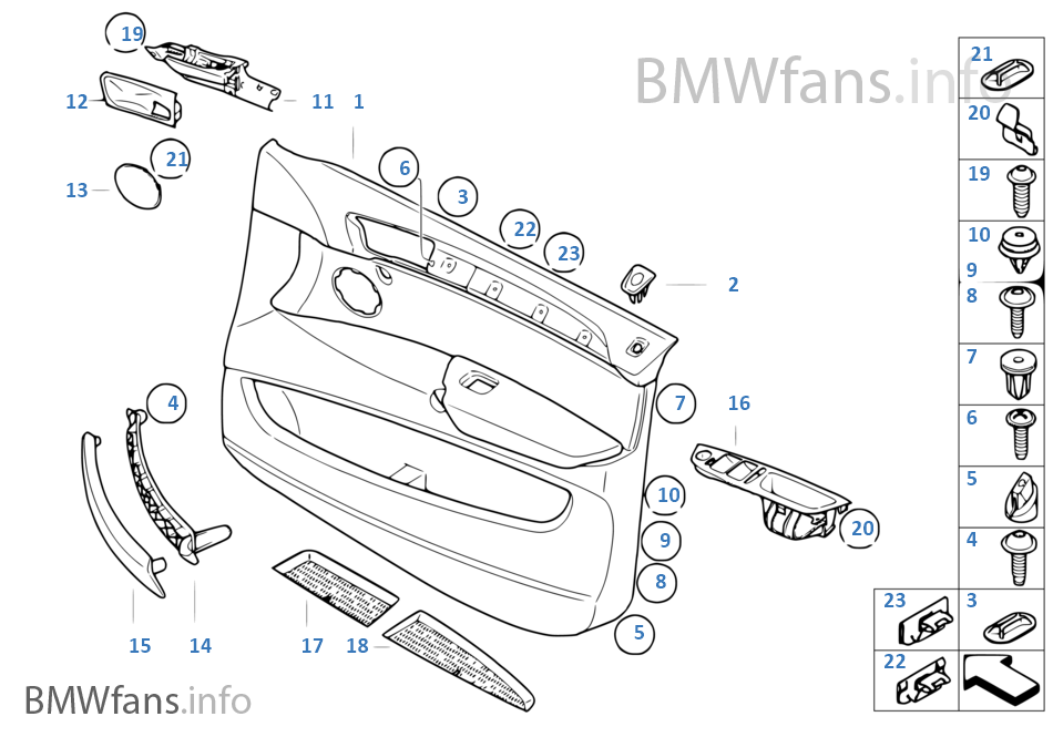 t rverkleidung vorn bmw x6 e71 x6 35dx m57n2 europa. Black Bedroom Furniture Sets. Home Design Ideas