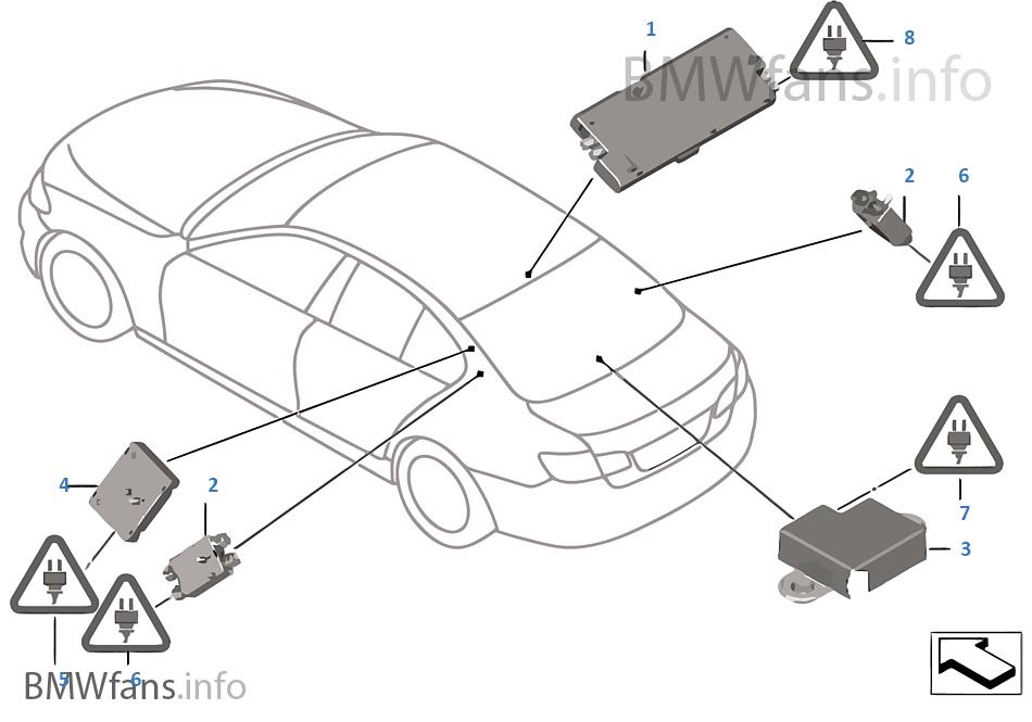 single parts f antenna