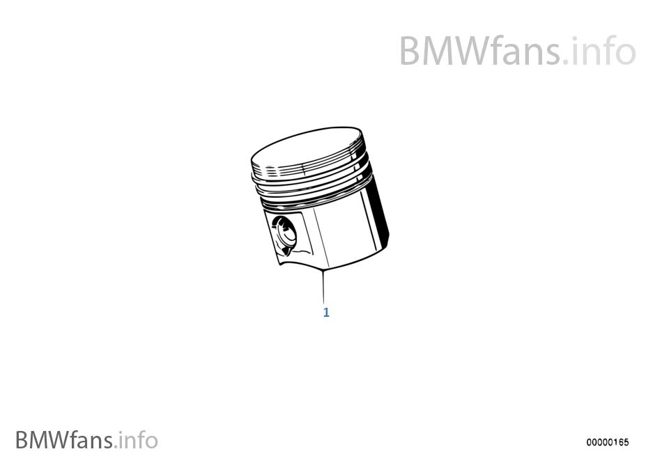 Crankshaft-Pistons | BMW 5' E28 525e M20 South Africa