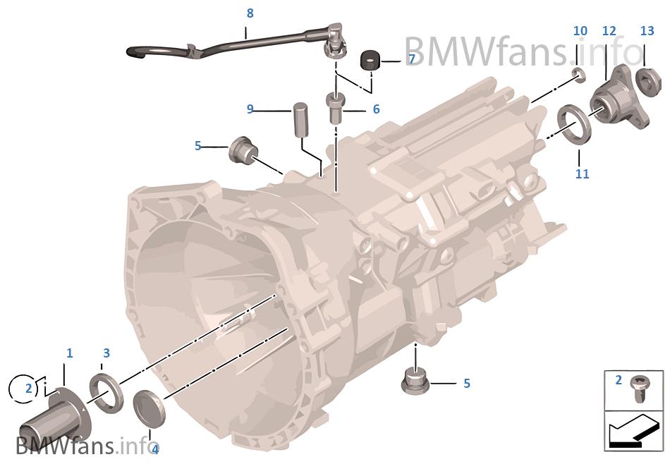 GS6-17BG/DG Seals, gaskets/mounted parts