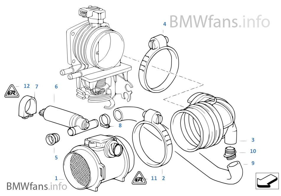 Mass Air Flow Sensor BMW 523i Wiring Diagram At Hrqsolutionsco: BMW K1100rs Wiring Diagram At Hrqsolutions.co