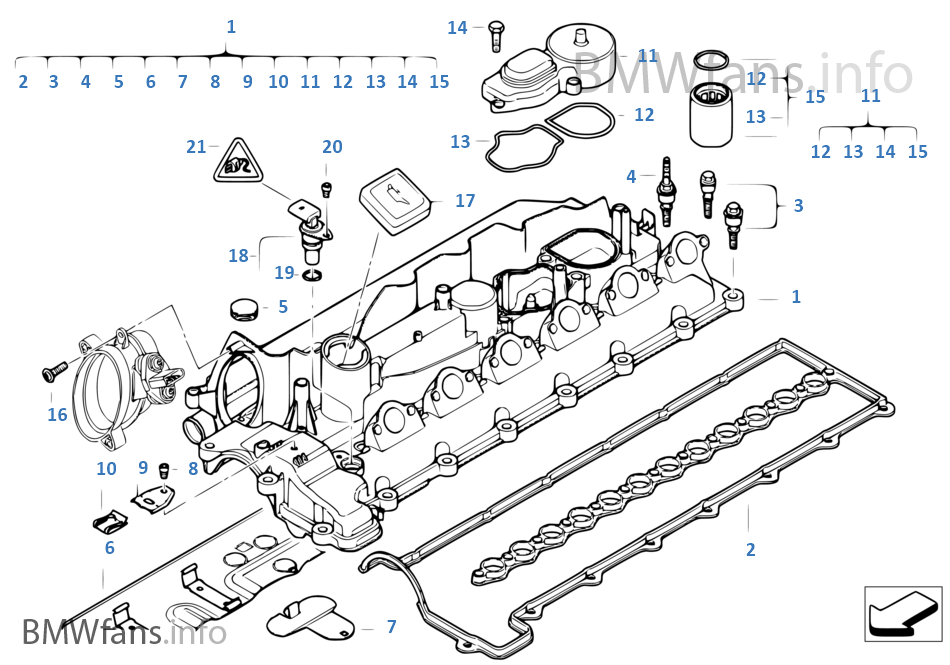 bmw 530d engine diagram