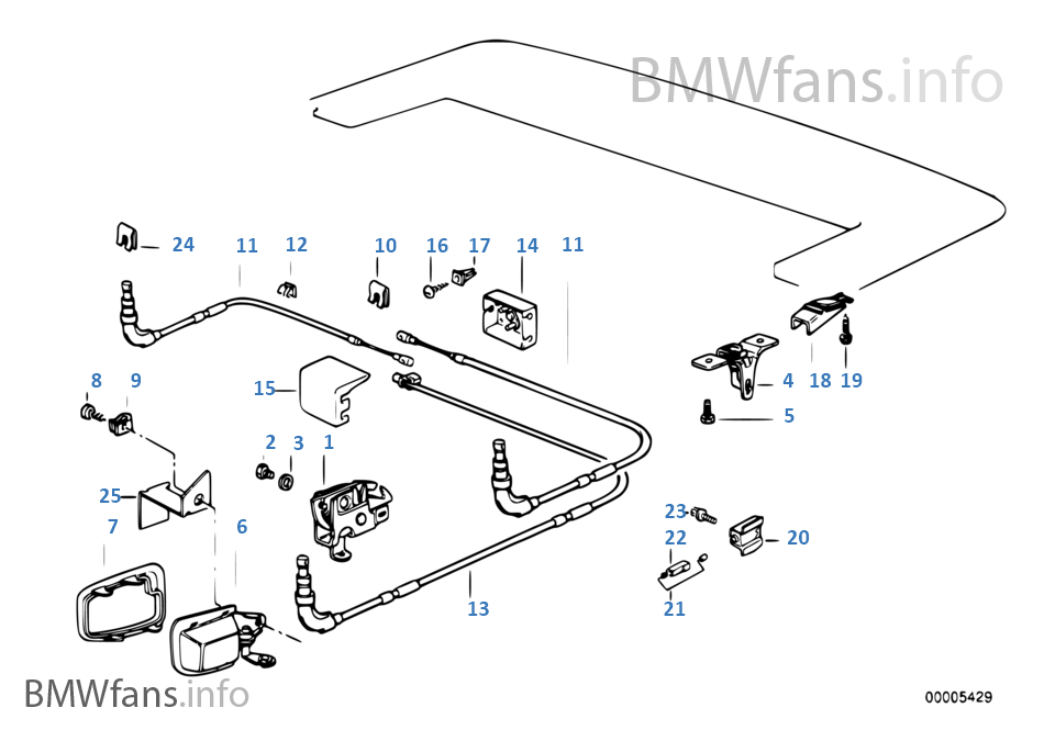 cde manuelle de clapet de capote bmw 3 39 e36 318i m44 usa. Black Bedroom Furniture Sets. Home Design Ideas
