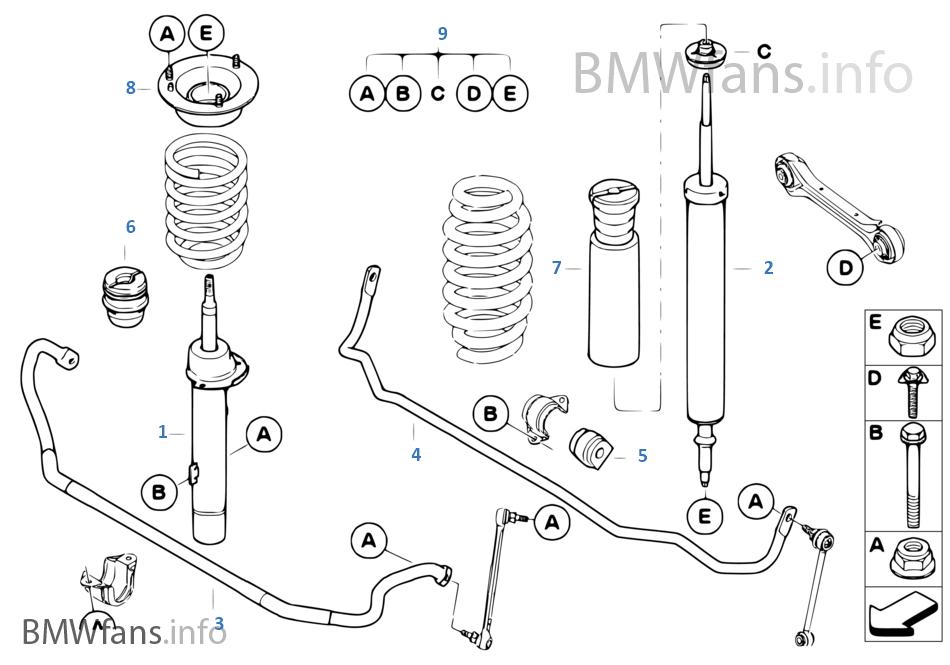 Bmw Suspension Schematic Enthusiast Wiring Diagrams