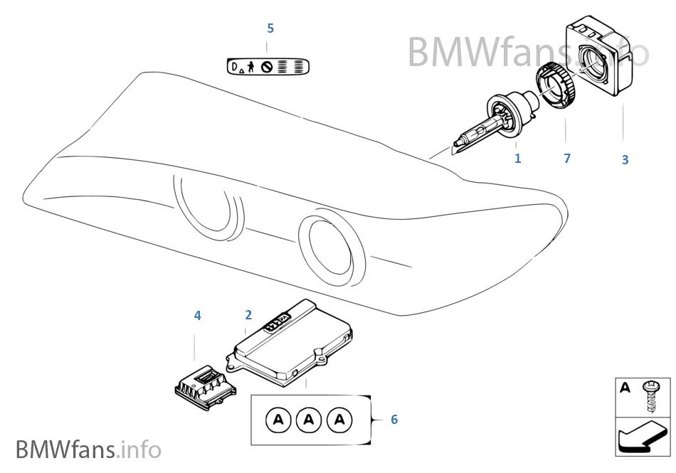 headlight  electronic parts  xenon light