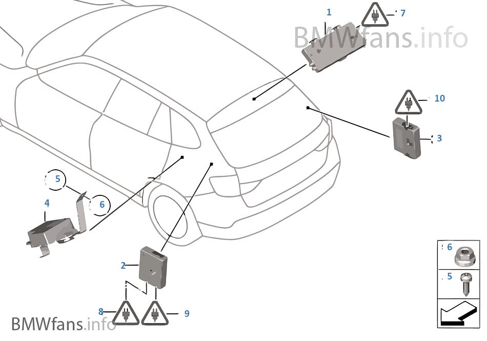 Single Parts F Antenna Diversity