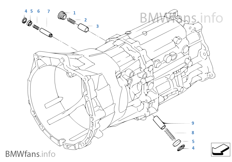 GS6X53DZ Εσωτ.εξαρτ.συστήμ.επιλογ.ταχυτ.