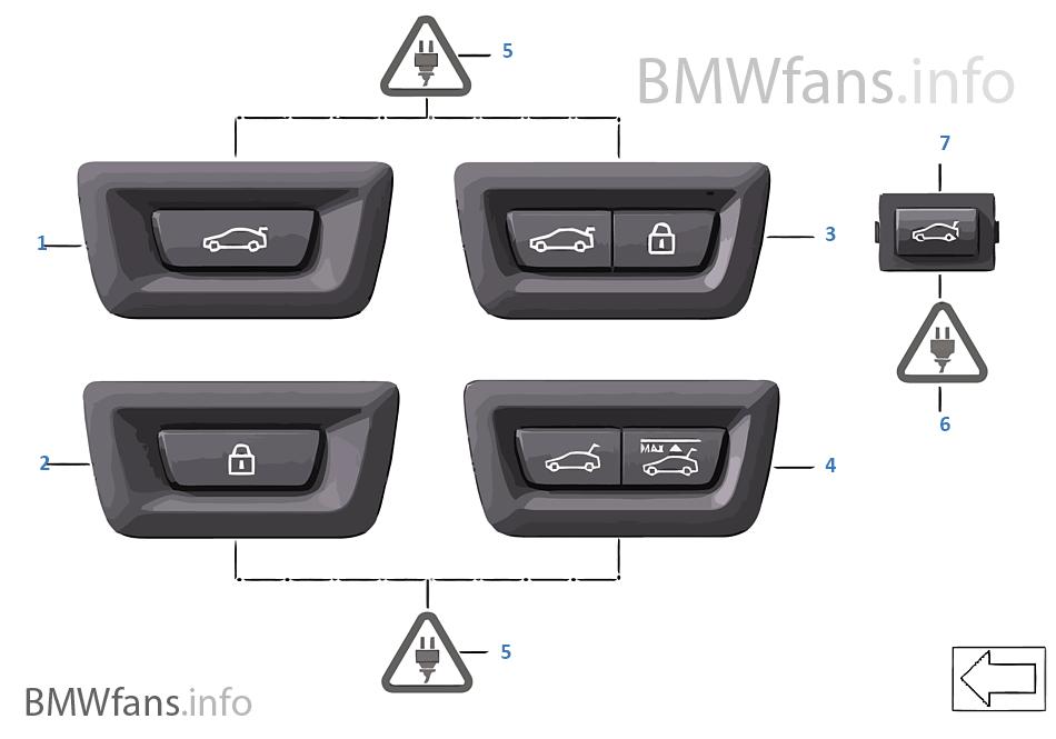schalter heckklappe und centerlock bmw 5 39 f11 520d n47n europa. Black Bedroom Furniture Sets. Home Design Ideas