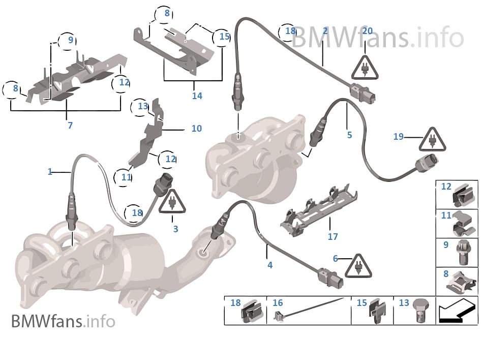 Αισθητήρας λάμδα/πρόσθετα εξαρτήματα
