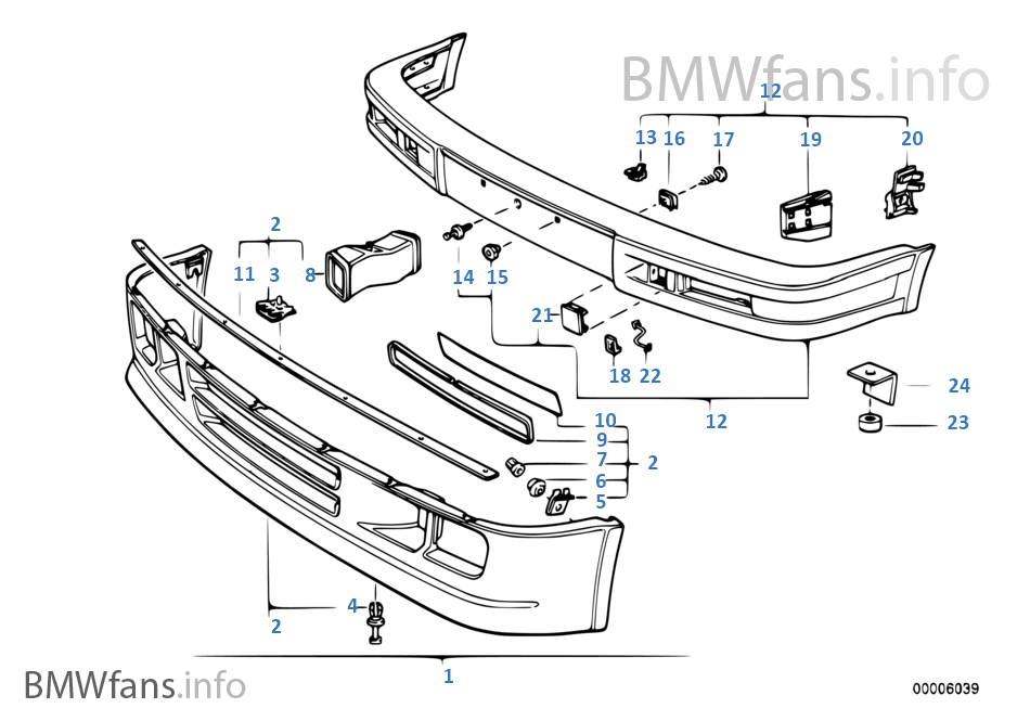bmw x5 front end parts diagram
