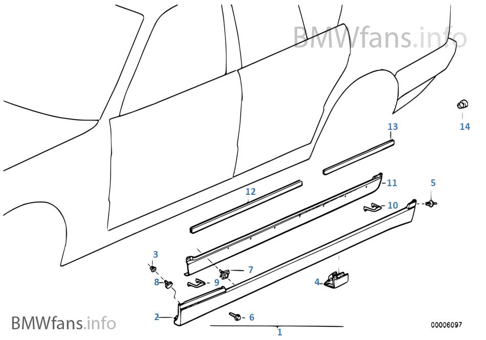 M kaplama, marşbiye/tekerlek davlumbazı