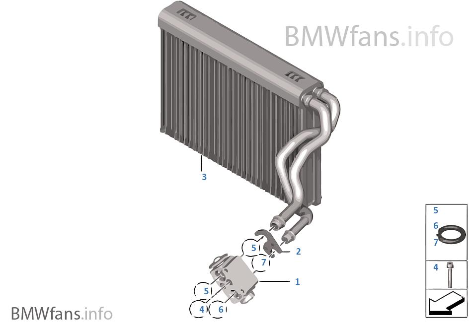 Evaporateur / Soupape vase d'expansion