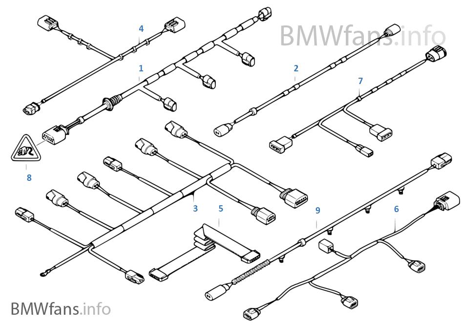 Diverse additionele kabelboom