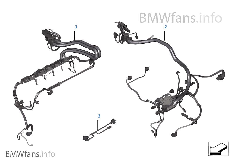 engine wiring harness bmw x6 e71 x6 35ix n54 europe. Black Bedroom Furniture Sets. Home Design Ideas