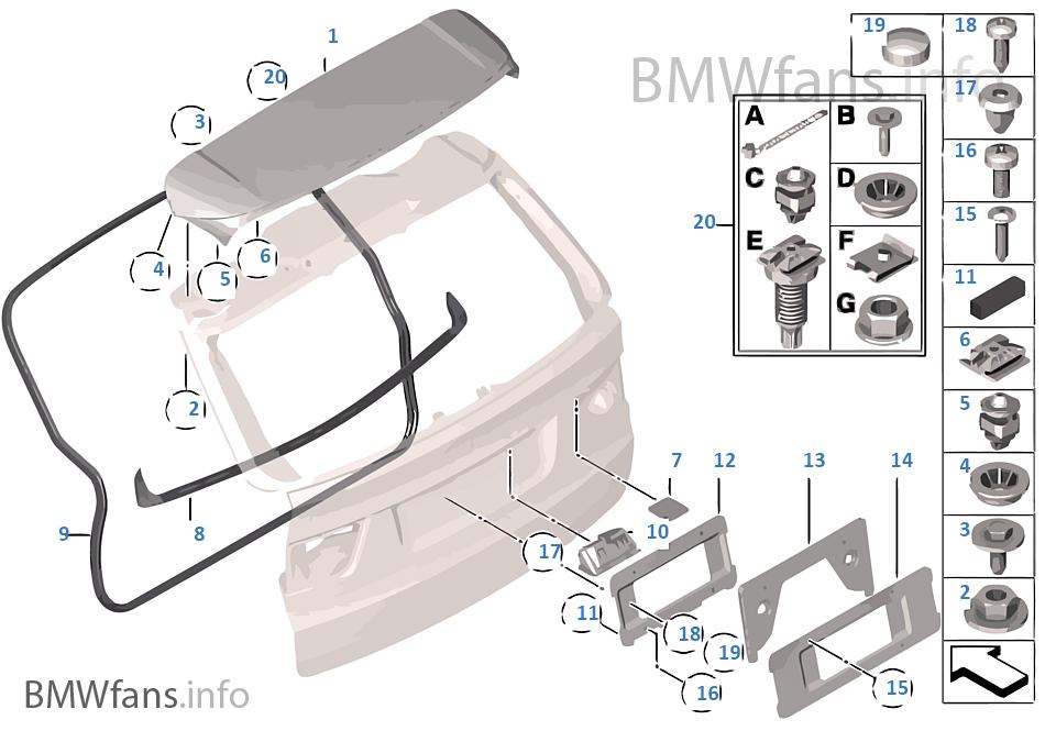 29 Bmw X5 Parts Diagram