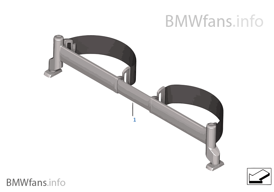 Adaptive Attachment System | BMW X3 F25 X3 28iX N52N USA