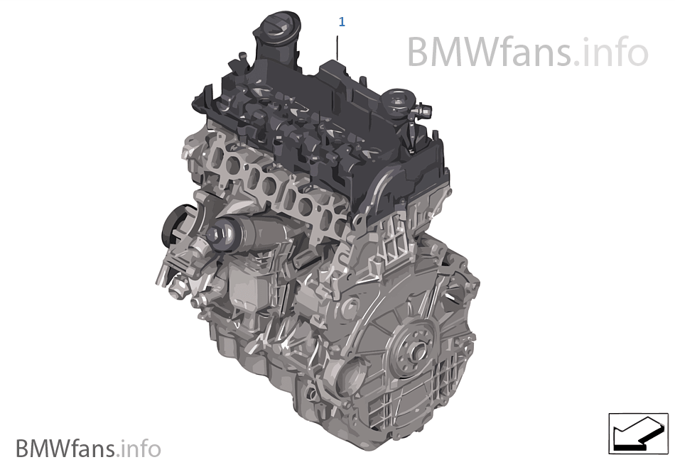 Short Engine | BMW X1 F48 X1 28iX B46 USA