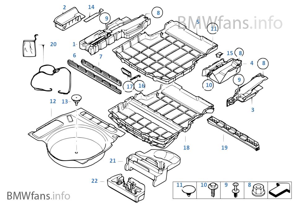 bmw parts catalog e i n vehicle trim