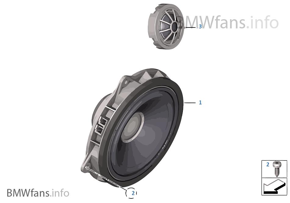 High-end geluidssysteem portier voor