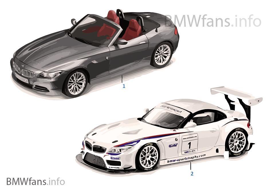 BMW Miniaturen \u2014 BMW Z4