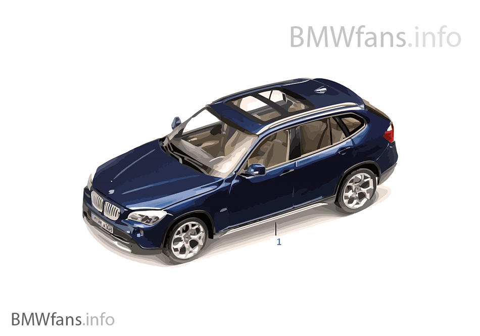 bmw miniaturen bmw x1 2010 11 bmw accessories catalog. Black Bedroom Furniture Sets. Home Design Ideas