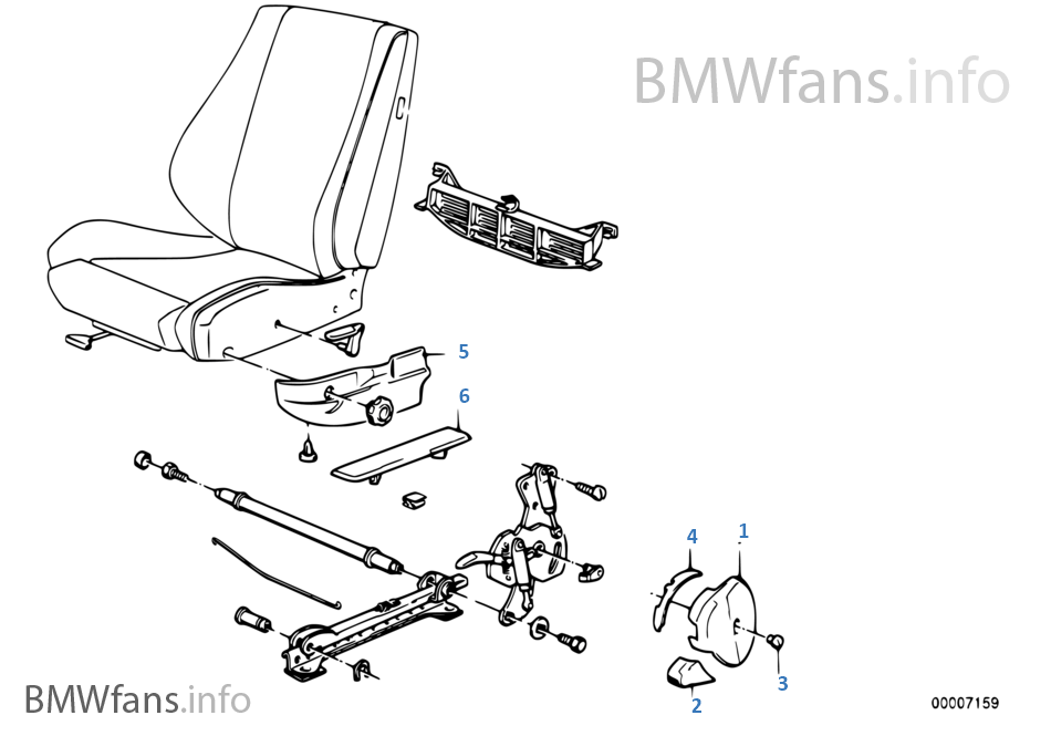 Bmw sports seat coverings