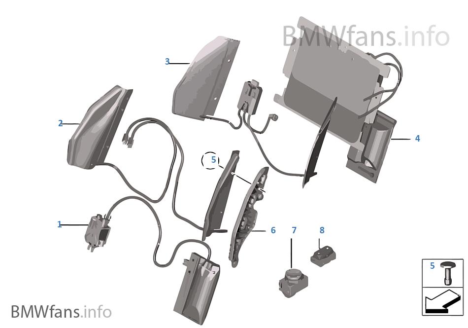 Поясничная опора переднего сиденья