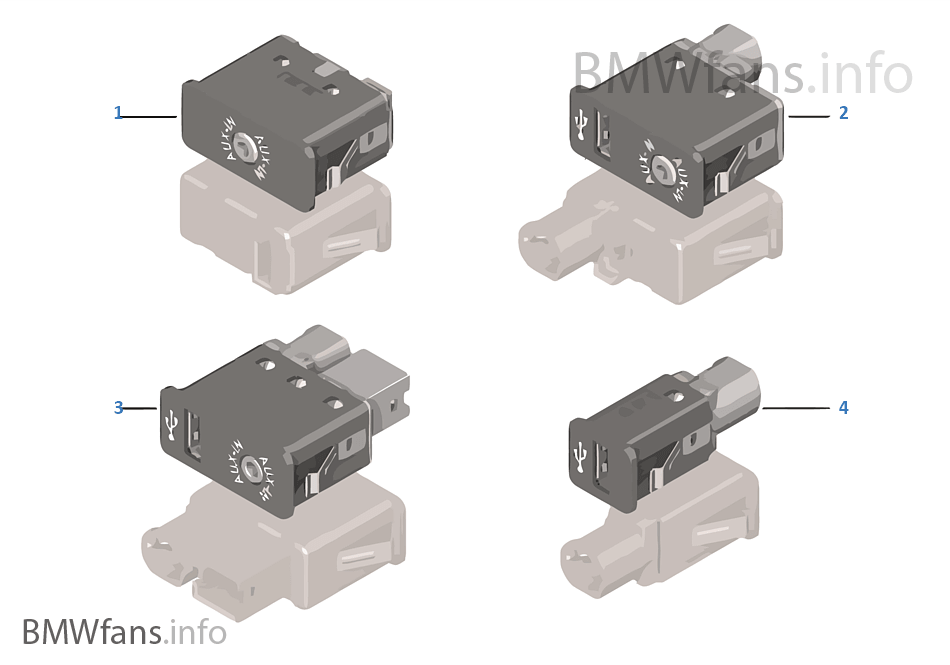 USB/AUX-IN 소켓