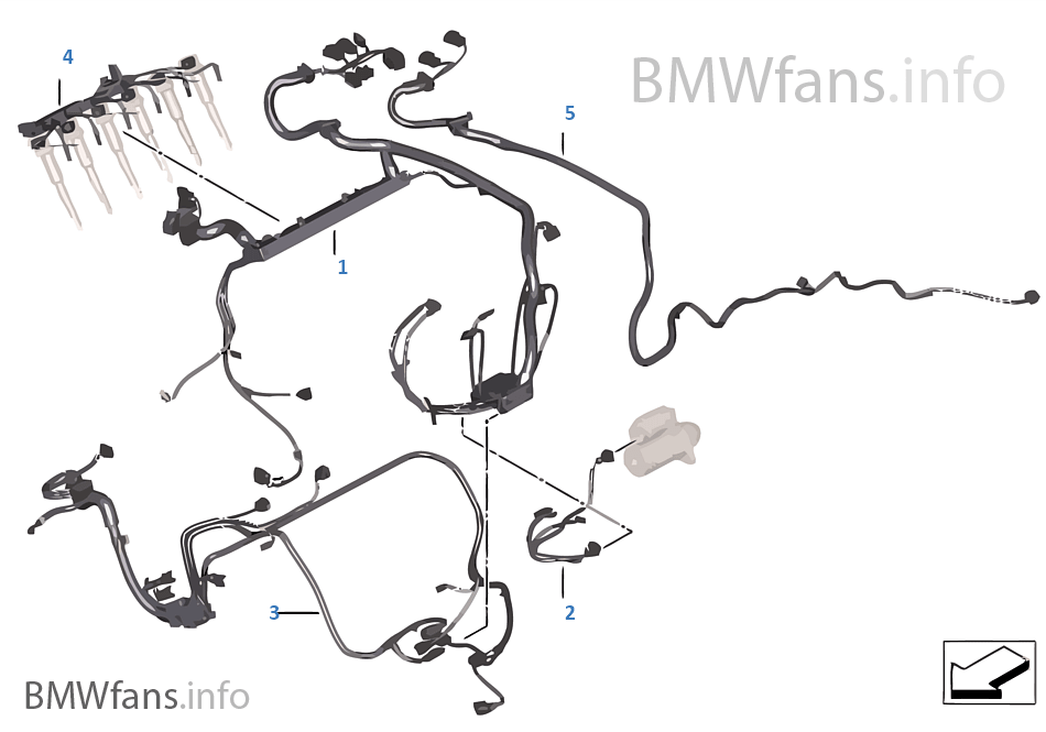 engine wiring harness | bmw 5' f10 530i n53 europe, Wiring diagram