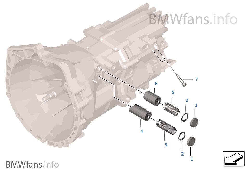 GS6-17DG Детали механизма ПП