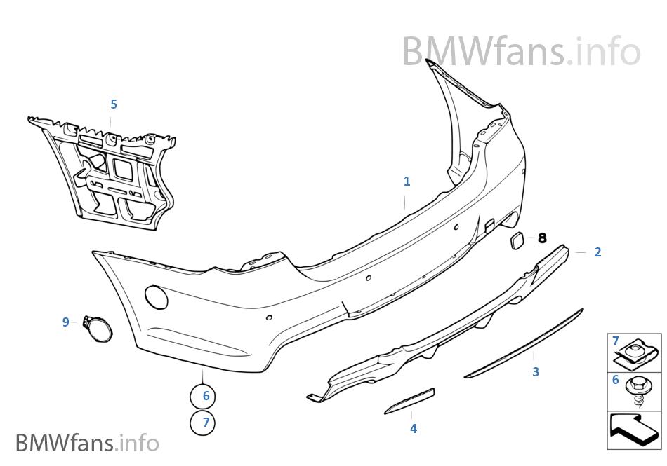 Аэродинамический к-т BMW Performance Зд