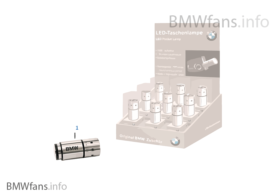 BMW LED flashlight