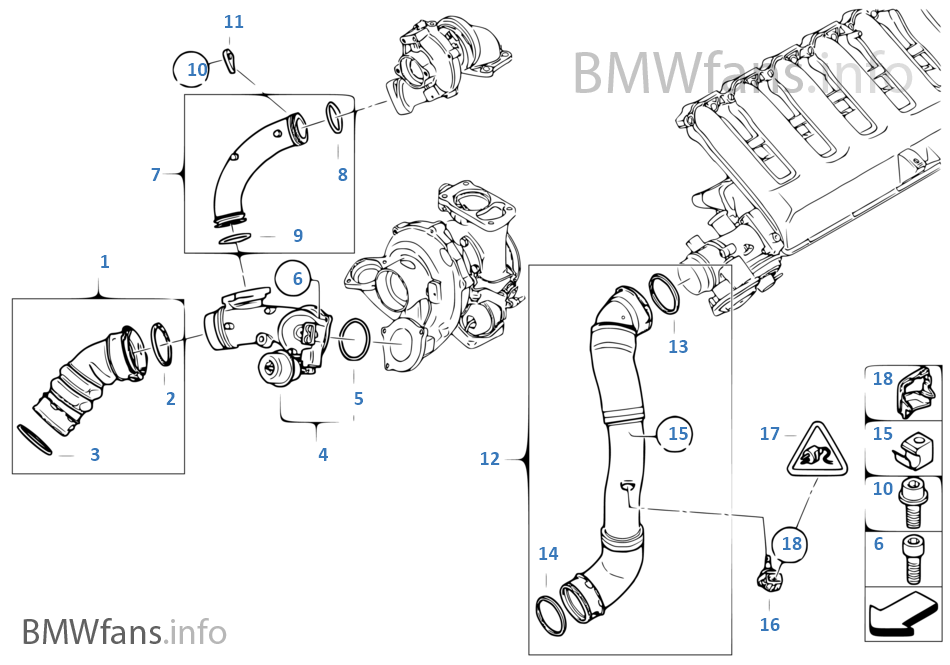 bmw map sensor location - wiring diagrams image free