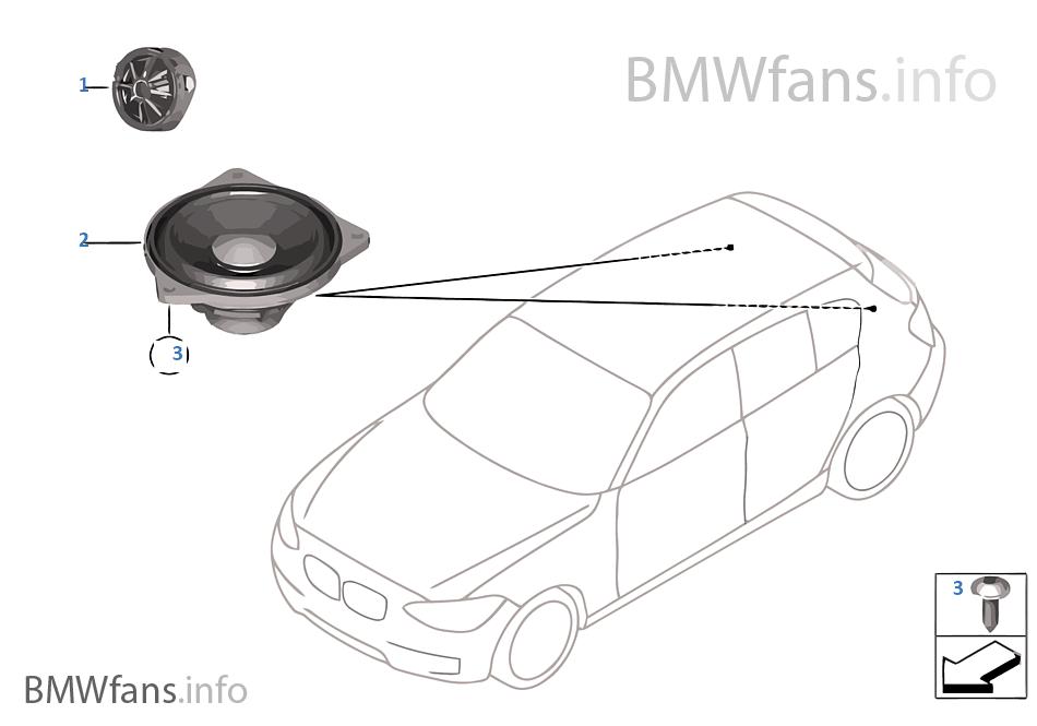 single parts f rear helf loudspeaker bmw 1\u0027 f20 118i n13 europesingle parts f rear helf loudspeaker bmw 118i f20 5 doors europe n13