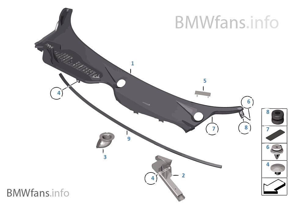 Bmw Z4 Windshield Bmw E46 Windshield Cowling Replacement
