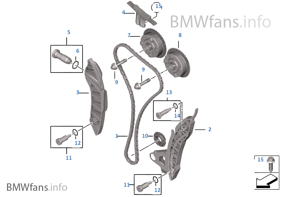 Timing And Valve Train Timing Chain