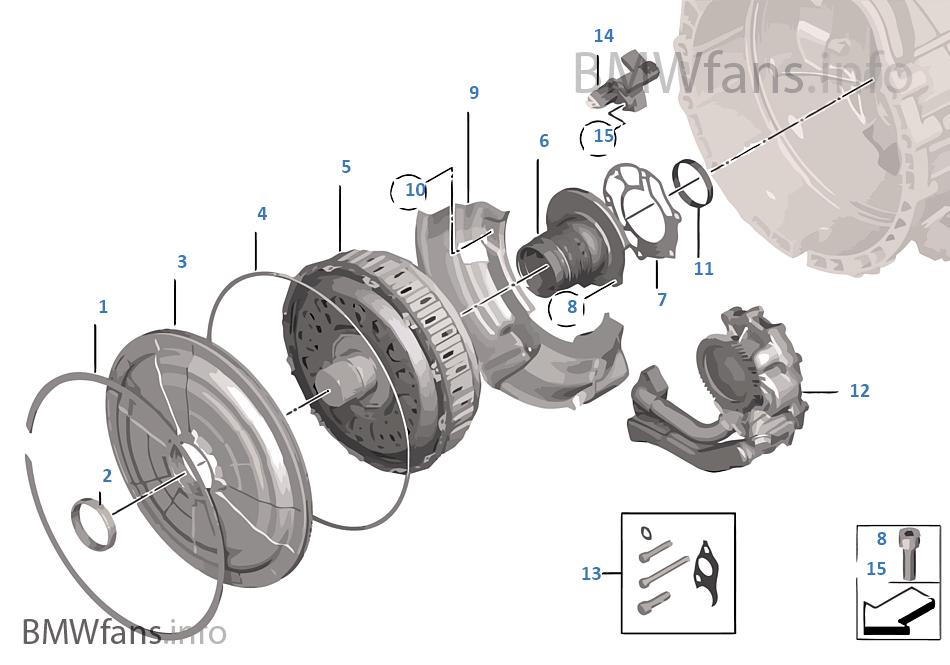 GS7D36SG doppia frizione / trasmissione