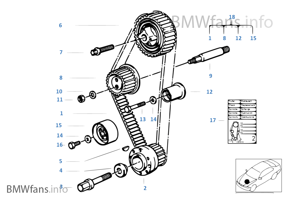 bmw 535i belt diagram